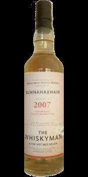 Bunnahabhain 2007 TWhm