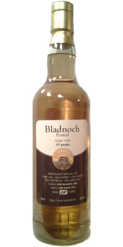 Bladnoch 2001 F.dk
