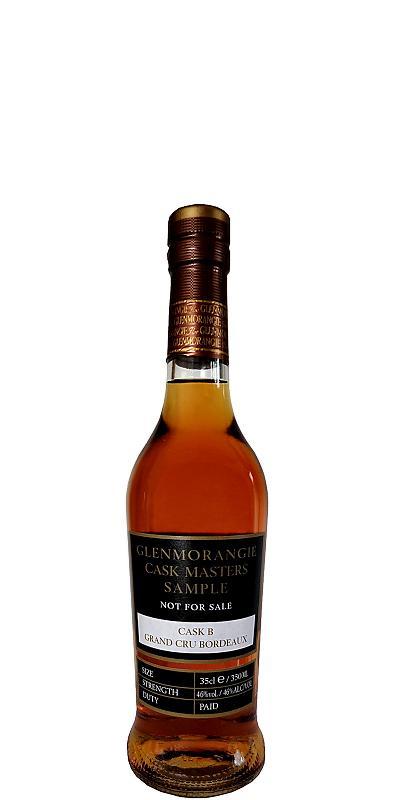 Glenmorangie Cask Masters Sample