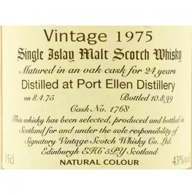 Port Ellen 1975 SV