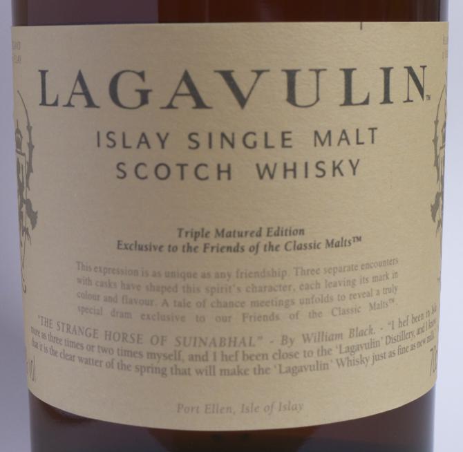 Lagavulin Triple Matured Edition