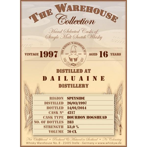 Dailuaine 1997 WW8