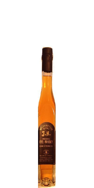 Waldviertler Whisky J.H. Original Rye-Whisky