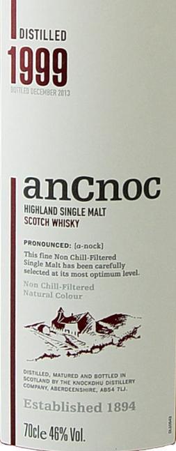 An Cnoc 1999