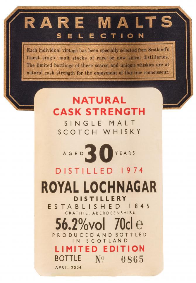 Royal Lochnagar 1974