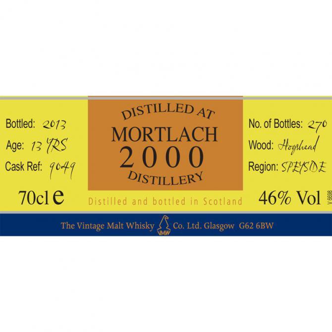 Mortlach 2000 CC