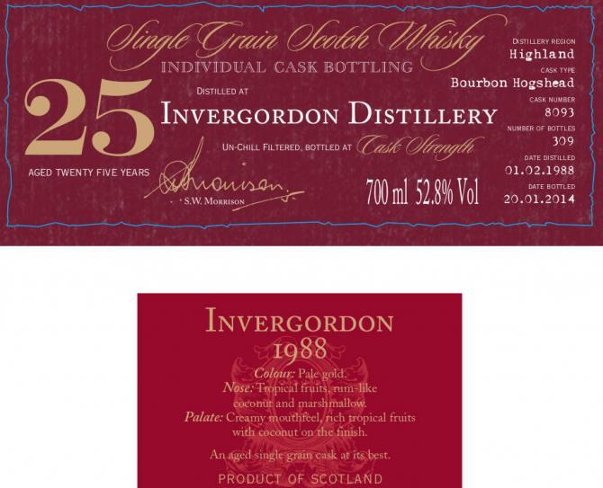 Invergordon 1988 DR