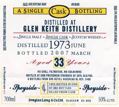 Glen Keith 1973 DL
