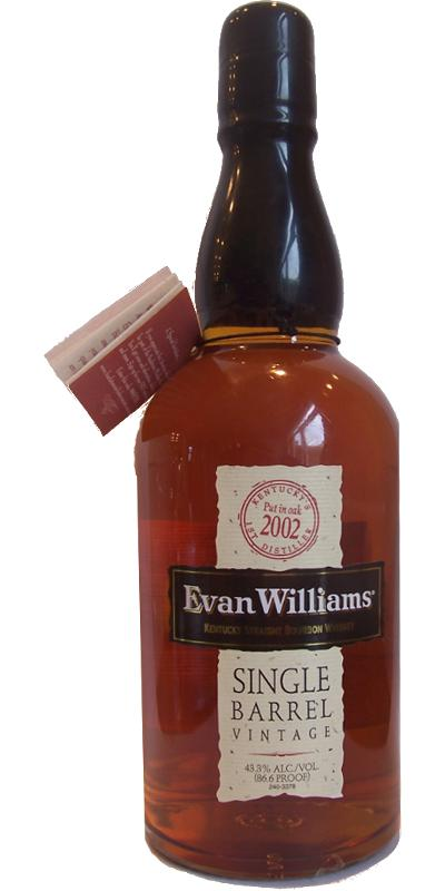 Evan Williams 2002