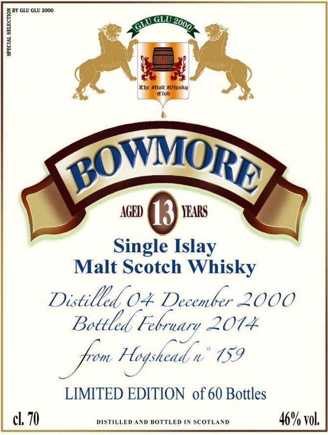 Bowmore 2000 HSC