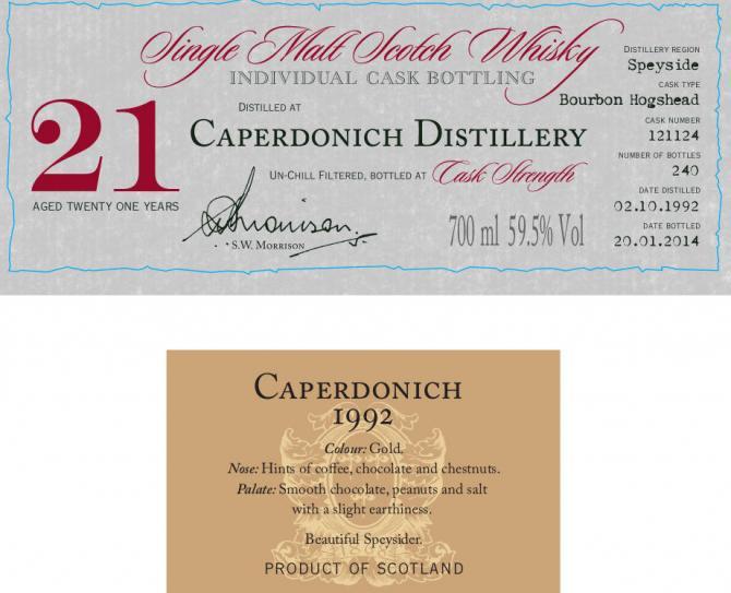 Caperdonich 1992 DR