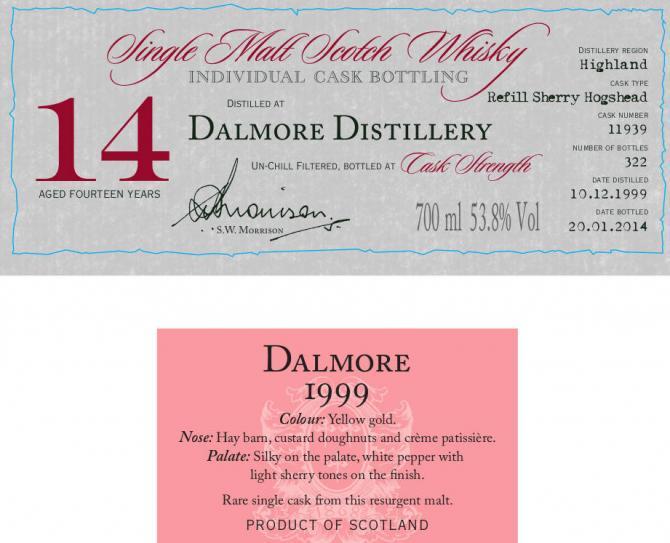 Dalmore 1999 DR