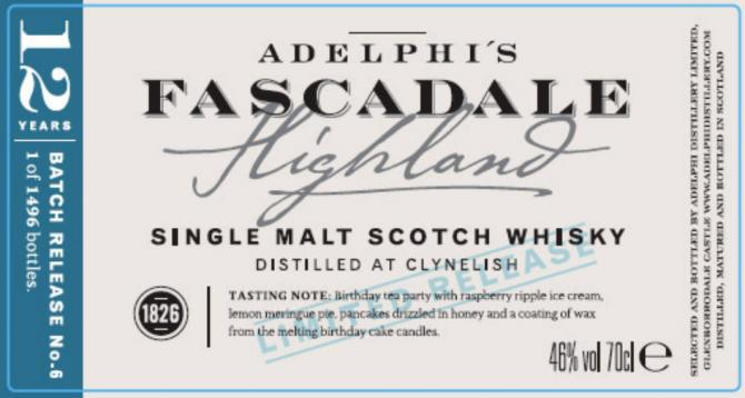 Fascadale Release No. 6 AD