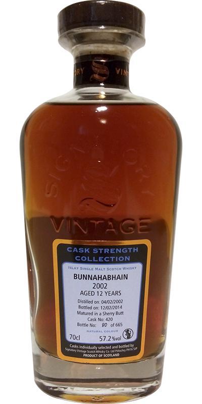 Bunnahabhain 2002 SV