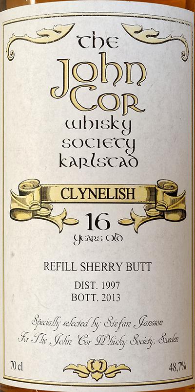 Clynelish 1997 JCWS