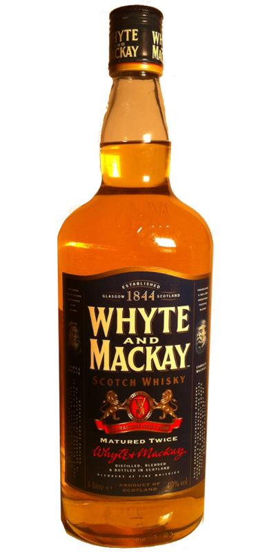 Whyte & Mackay Matured Twice W&M