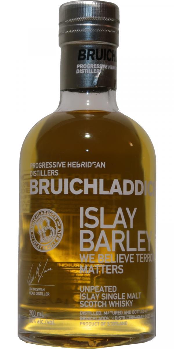 Bruichladdich Islay Barley - Rockside Farm - 2007