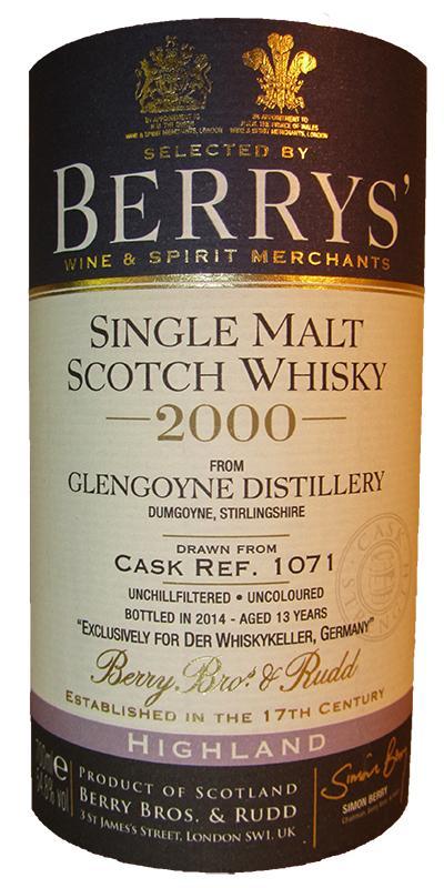 Glengoyne 2000 BR