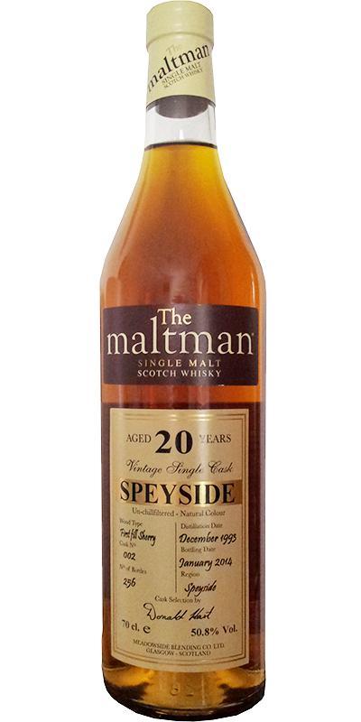 Speyside Distillery 1993 MBl