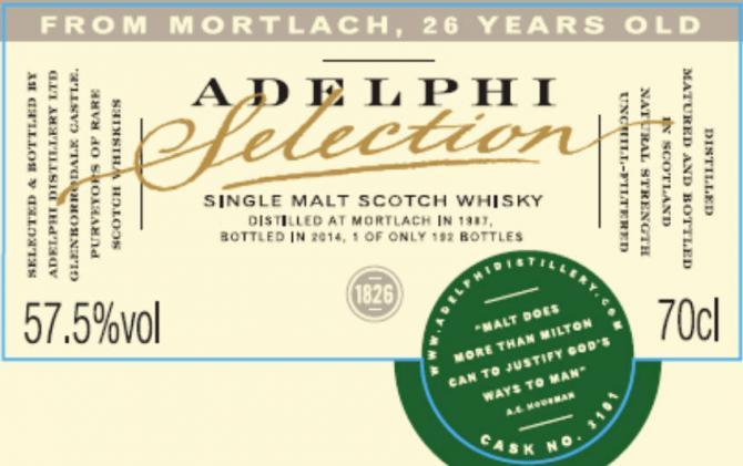 Mortlach 1987 AD