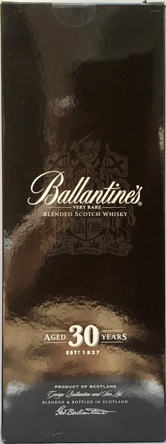 Ballantine's 30-year-old