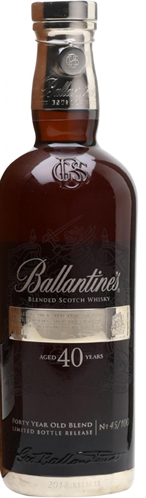 Ballantine's 40-year-old