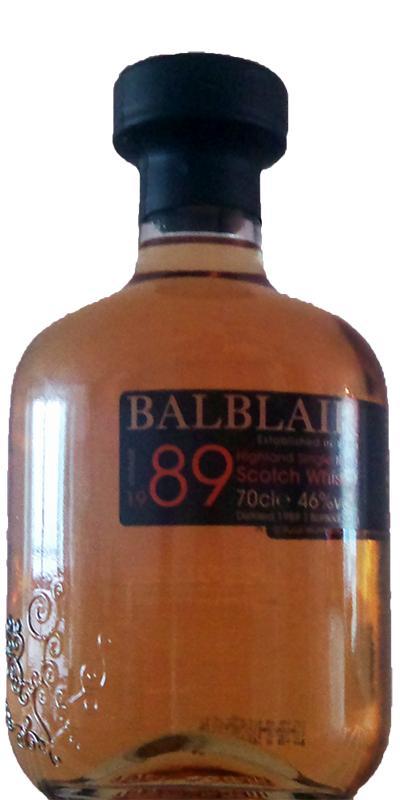 Balblair 1989