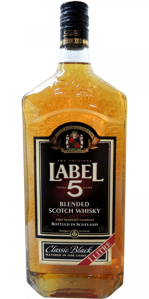 Label 5 Classic Black