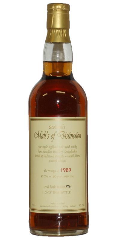Macallan 1989 MFD