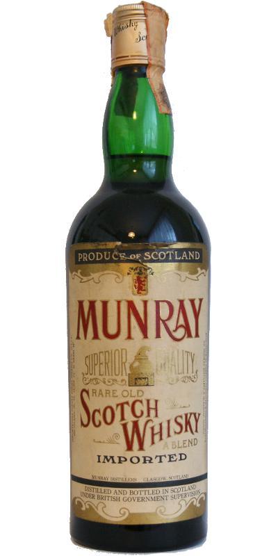 Munray Rare Old Scotch Whisky