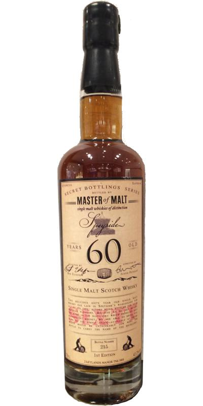 Secret Bottlings Series 60 Year Old MoM