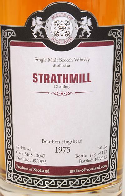Strathmill 1975 MoS