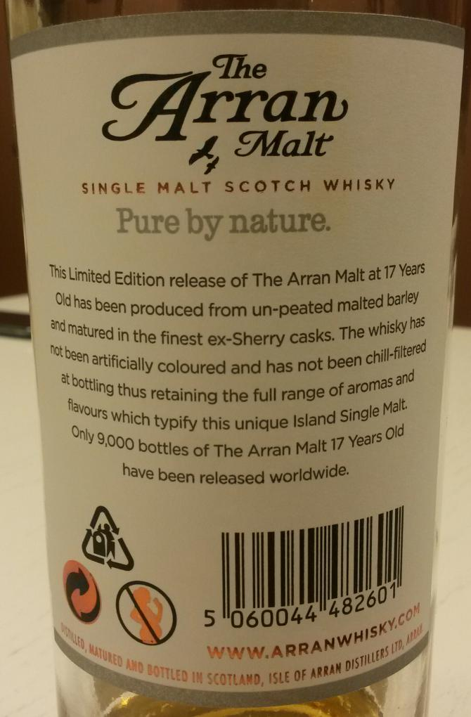 Arran 17-year-old