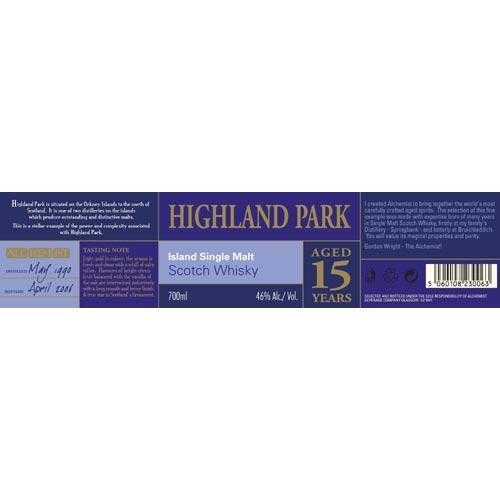 Highland Park 1990 Al