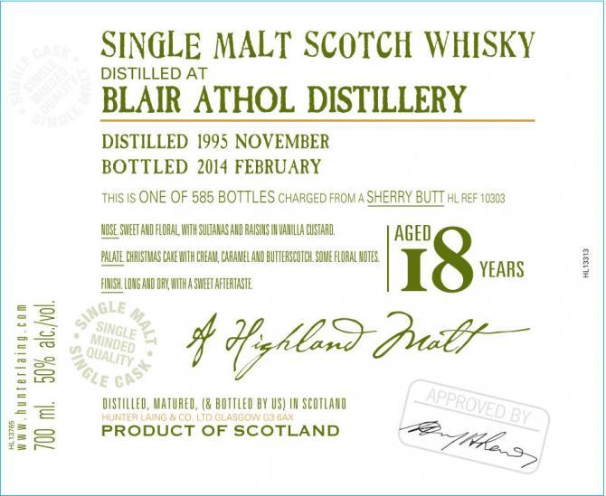 Blair Athol 1995 HL