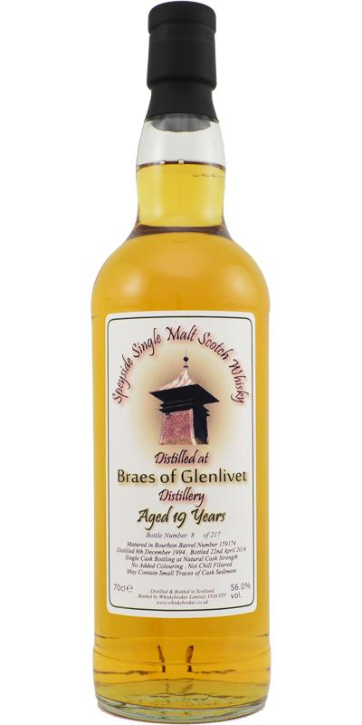 Braes of Glenlivet 1994 WhB