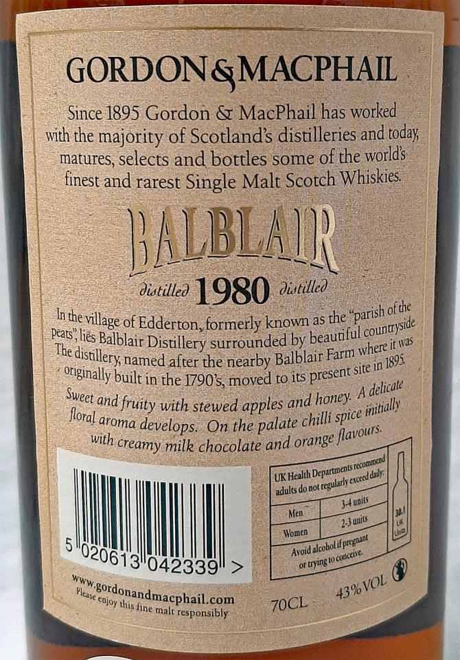 Balblair 1980 GM