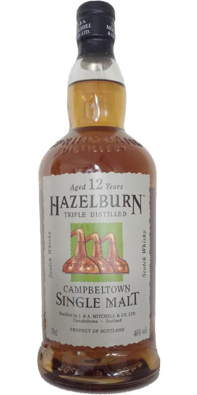 Hazelburn 12-year-old