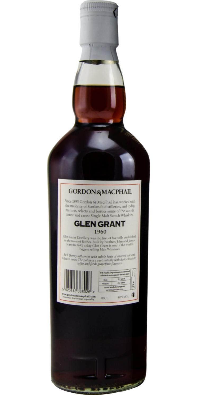 Glen Grant 1960 GM