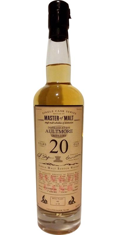 Aultmore 1991 MoM