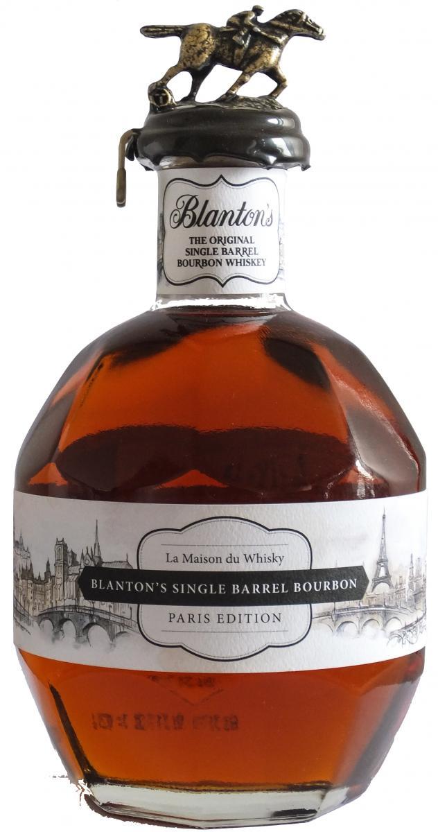 Blanton's Paris Edition By Day