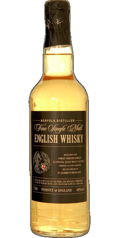 The English Whisky Fine Single Malt English Whisky