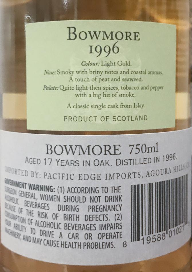 Bowmore 1996 DR