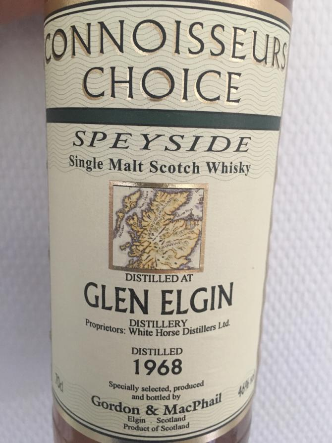 Glen Elgin 1968 GM