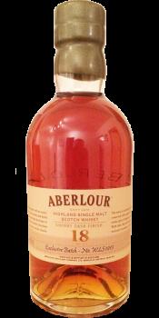 Aberlour 18-year-old Sherry