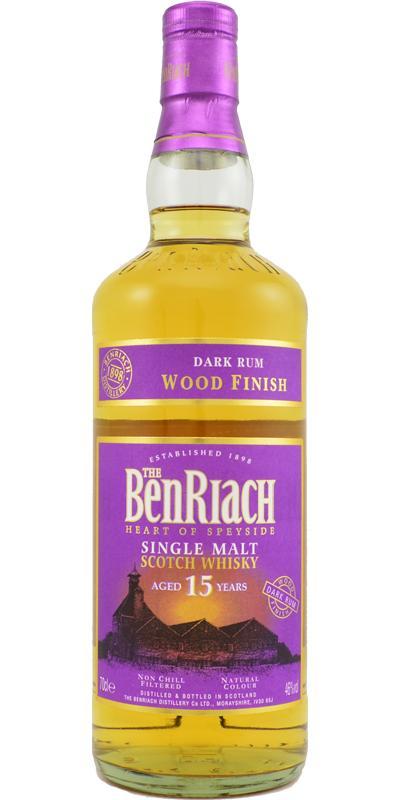 BenRiach 15-year-old Dark Rum