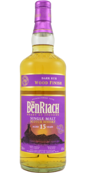 BenRiach 15-year-old Dark Rum