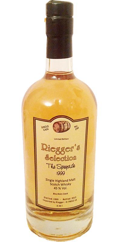 Speyside Distillery 1999 RS