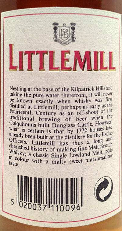 Littlemill 08-year-old
