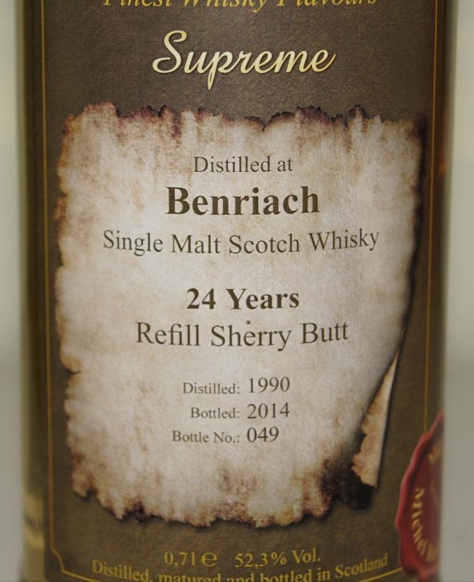 BenRiach 1990 BD